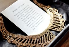 And even prettier in person, Crystal Lace Collar.