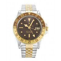 Rolex GMT Master Copper Dial Mens Replica Watch 1675