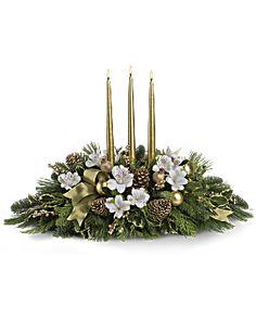 Royal Christmas Centerpiece Bouquet