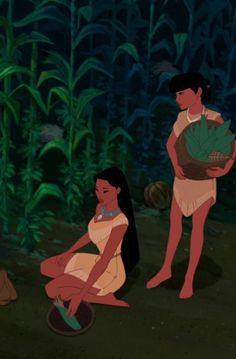 This is the scene where I most relate to Pocahontas . you can tell she's so totally lost in thought. Disney Pocahontas, Disney Pixar, Arte Disney, Disney Animation, Disney And Dreamworks, Animation Film, Disney Magic, Disney Art, Princess Pocahontas