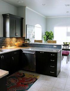 Fresh Espresso Shaker Kitchen Cabinets