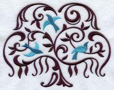 Filigree Tree with Birds