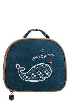 Für deine Kosmetikartikel im Urlaub der perfekte Begleiter! Frisch und munter Kosmetiktasche von Adelheid #whale