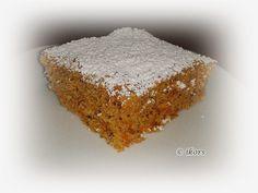 Kochen....meine Leidenschaft: Schwedischer Möhrenkuchen