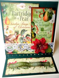 Partridge in a Pear Tree Graphic 45 - Scrapbook.com