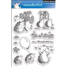 Penny Black Clear Stamp Set, Wonderful