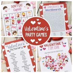 Valentines bingo game to print play ndash fun squared fun valentine games to print and play Valentine Bingo, Valentine Cupid, Kinder Valentines, Valentine Activities, Valentines Day Party, Valentine Ideas, Valentine Crafts, Kids Valentines Games, Valentine Nails