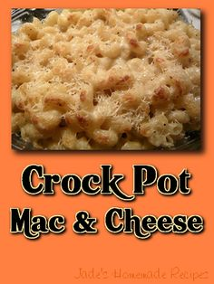 Macaroni and cheese is like the ultimate comfort food.  Who doesn't love it as a side dish or even the main dish?  However, the one thing that most people don't love is making it from scratch, it i…