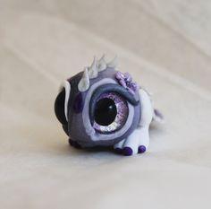 Dusty Purple Bitty Flower Monster von BittyBiteyOnes auf Etsy