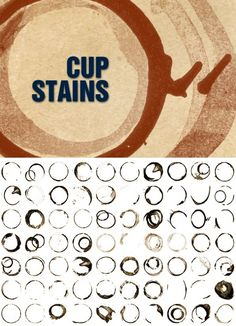free photoshop brushes   Cup Stains Photoshop Brushes - Free Photoshop Brushes   BrushKing ♛