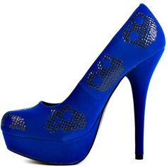 Sugar Hiccup Platform - Cobalt  Iron Fist $59.99