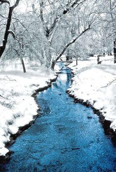 Edgemont Park in winter - Montclair, New Jersey