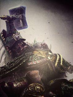 (10) primarch | Tumblr Salamanders 40k, Power Hammer, The Horus Heresy, Far Future, Warhammer 40k Art, The Grim, Space Marine, Phan, Emperor