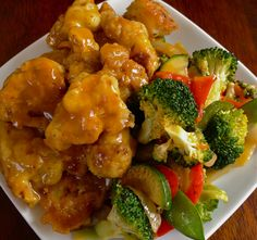 Who needs chicken when you can have cauliflower? If you love chinese takeout, you must try this recipe. This orange cauliflower recipe is the perfect substitue