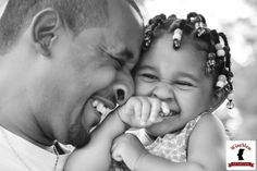 Daddy's Little Girl [previous pinner's caption] Black Fathers, Fathers Love, Happy Father, Father Daughter Photography, Father Knows Best, Genuine Smile, Daddys Little Girls, Black Love, Black Men