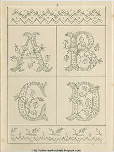 Free Easy Cross, Pattern Maker, PCStitch Charts + Free Historic Old Pattern Books: Sajou No 235