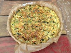 Quiche met groente zonder bladerdeeg! Vanavond gegeten, heerlijk!