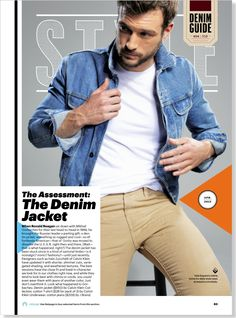 The Denim Jacket ($850) clipped from Esquire using Netpage.