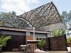 garden shade structures patio deck and outdoor furniture | home ... - Patio Shade Structure Ideas