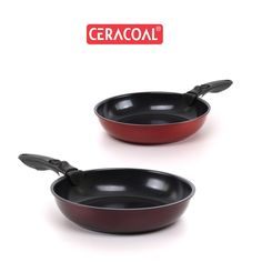 CERACOAL - Multi-purpose oven pan | from Oven to table  | practical frypan & ovenpan | Ergonomic detachable handle