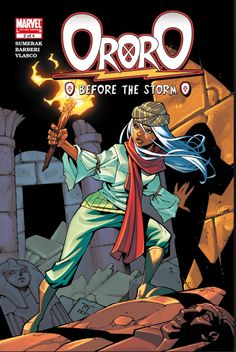Ororo: Before the Storm #2