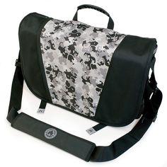 The messenger of all messenger bags by @MobileEdge http://www.mobileedge.com/sumo-laptop-messenger-bag-black-silver.html
