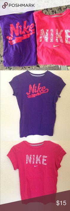 Girls t-shirts Good condition Nike Shirts & Tops Tees - Short Sleeve