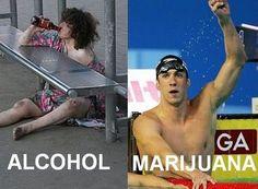 Alcohol Vs Marijuana | Legalize It! | Pinterest | Alcohol and ...