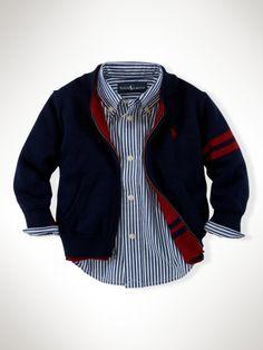 Ralph Lauren baby baseball sweater