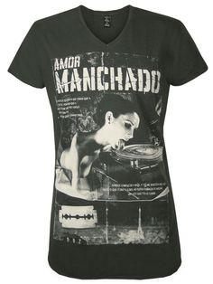DEATH BY ZERO Homme Designer Shirt - MANCHADO -XXL: Amazon.fr: Vêtements et accessoires