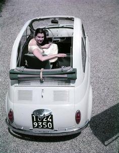 Ferrari Fiat 500, 1958