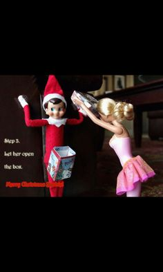 HILARIOUS Elf on the shelf... @#!? in a box!