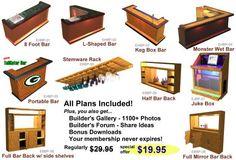 Home Bar Plans - The Most Popular Home Bar Plans Design