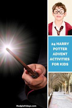 24 Harry Potter Advent Activities for Kids