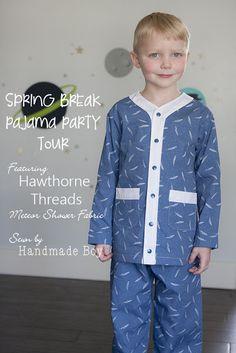 Handmade Boy: Spring Break Pajama Party Tour