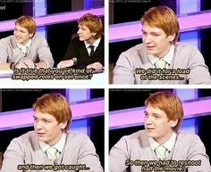 Lol!!! They're just like Fred and George in real life!!!!!!