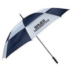 Make your own rain shelter with this huge promotional umbrella!