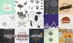 Free vectors http://blog.templatemonster.com/2016/02/12/200-free-vintage-resources-designers/ #mockup #pattern #printables #fonts #icons