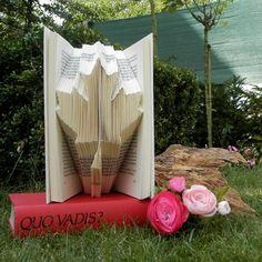 Maple Leaf - Folded Book Art - Book Sculpture - Wedding gift - Anniversary - Decor - Antique Book - Canada - Fall - Sign art