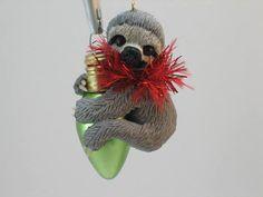 Sloth Christmas Ornament WhimzyGrimzy Original Keepsake