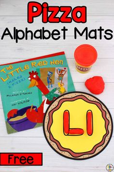 Celebrate National Pizza Day with these free Pizza Alphabet Play Dough Mats! These themed play dough mats are not only fun but educational too. Your kids will work on their pre-reading skills and letter knowledge by practicing letter formation and letter writing. As as your kids squeeze, roll, and squish the play dough, they will also develop their fine motor skills and hand muscle strength through sensory play. Click on the picture to get these alphabet activities for free! #alphabetactivities