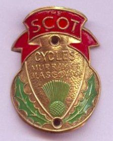Flying Scot Head Badge by Paris-Roubaix, via Flickr