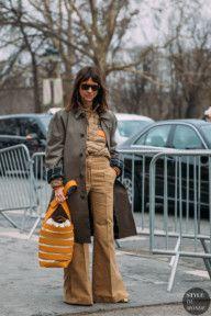 Paris FW 2018 Street Style: Natasha Goldenberg