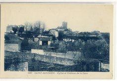 Saint Savinien sur Charentes-Eglise et Château de la Cave-