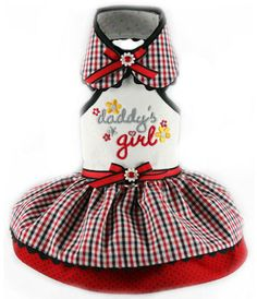 Daddy's Girl Halter Dress - Special Order    Even though it is just me & Snoopy she is a daddy's girl.  He visits her because no one can resist being away from her.  She's so loving and funny and terrific.