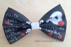 """18. Phantom of the Opera Bow or Bow Tie 
