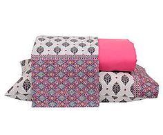 Jogo de lençol debbie indie - cama de casal