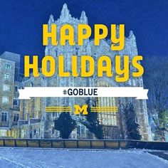 Merry Christmas to everyone celebrating today! We hope Santa brought you something Maize and Blue! Michigan Wolverines Football, State Of Michigan, University Of Michigan, Merry Christmas Everyone, Go Blue, College Fun, Merry And Bright, Teamwork, Happy Holidays