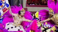 Desfile da escola de samba União da Ilha do Governador pelo grupo especial, na Marquês de Sapucaí no Rio de Janeiro (RJ), nesta segunda-feira (3)