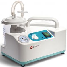 Suction Machine KUM-A100 This suction machine is a portable electric device, very convenient to travel with due to its compact design and light weight.